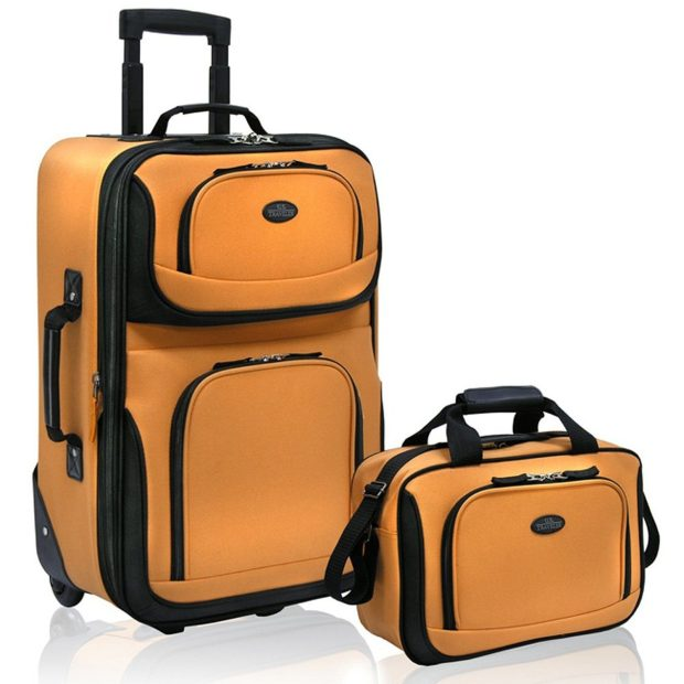 US Traveler Rio Two Piece Expandable Carry-On Luggage Set Was $50 Now Only $37.05!