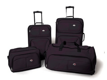 American Tourister 4-Piece Luggage Set 70% Off - Just $53.98 Shipped!