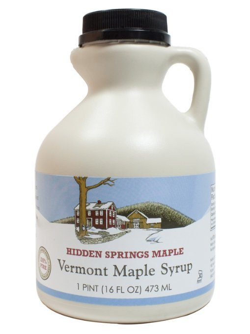 Hidden Springs Natural Vermont Maple Syrup, Fancy Grade Just $13.08!