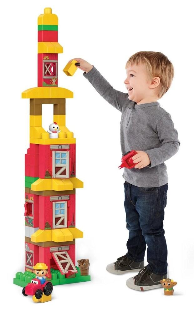 Mega Bloks First Builders Friendly Farm Building Set Only $23.24! Reg. $35!