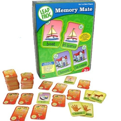 Leap Frog Bilingual Memory Mate Card Game Only $9.99 Down From $29.99! Ships FREE!