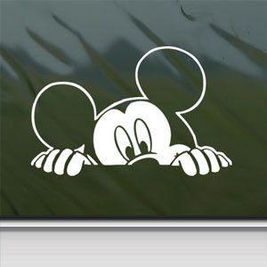 Peeking Mickey Mouse Window Decal Just $2.29 Shipped!
