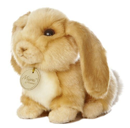 """Miyoni Lop Eared Bunny 8"""" Plush Only $7.20!"""