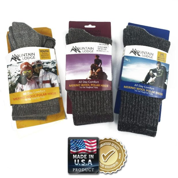 Merino Wool Socks - 2 Pairs Only $7.99! Ships FREE!