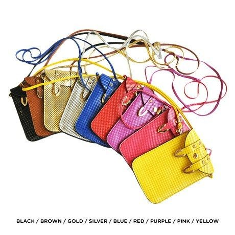 Mobile Phone Cross-Body Bag - Assorted Colors Only $14 Shipped!