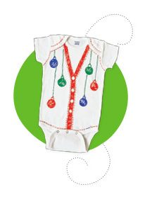 FREE Babies First Ugly Christmas Sweater Onesie At Babies 'R' Us On November Saturdays!