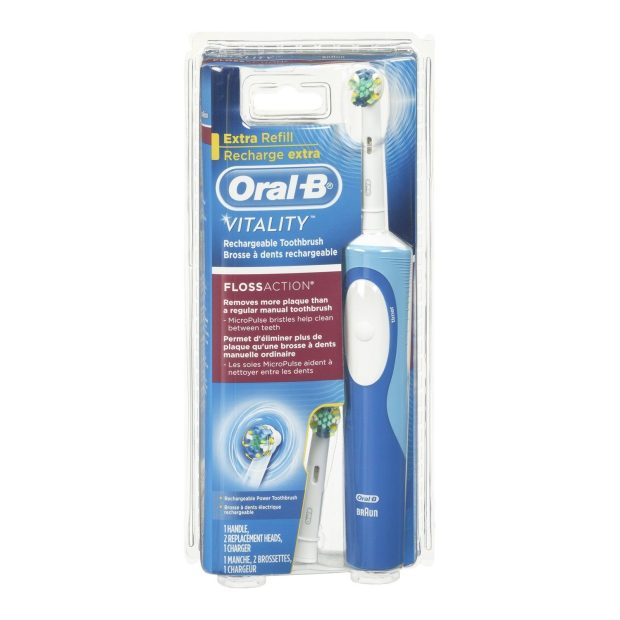 Oral-B Vitality Floss Action Rechargeable Electric Toothbrush Just $14.96! (Reg. $26!)