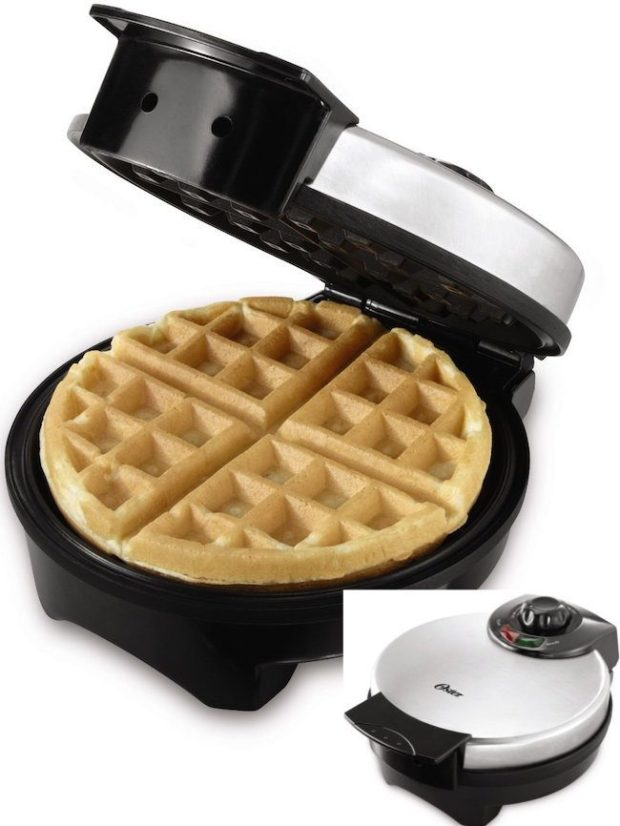 Oster Belgian Waffle Maker Only $17.86!