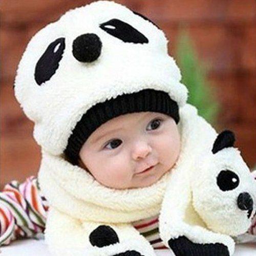 Children's Panda Hat & Scarf Just $3.72! Ships FREE!