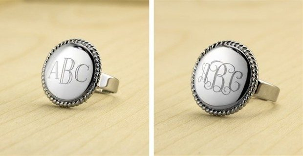 Personalized Ring Only $8.99!