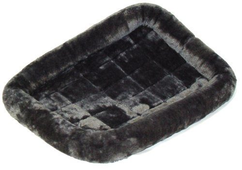 MidWest Quiet Time Fashion Pet Bed In Grey Just $10.40! (reg. $20)