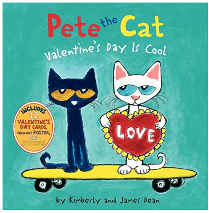 Pete The Cat: Valentine's Day Is Cool Hardcover Just $6 Down From $10!
