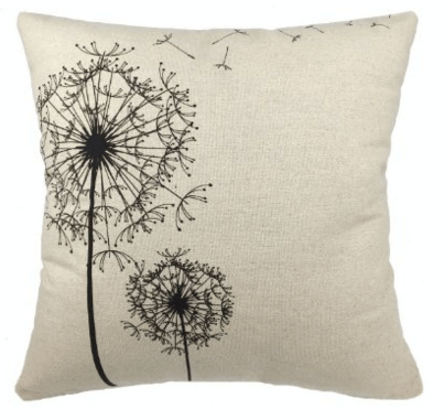 Dandelion Floral Pillowcase CoverJust $2.82 Down From $9!