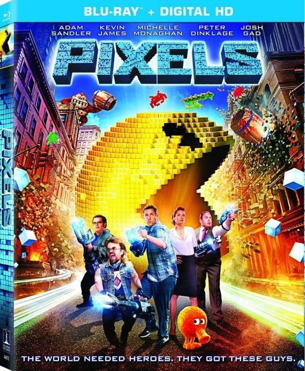 Pixels on Blu-Ray Just $14.99! (DVD Just $12.99)
