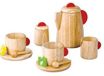 Plan Toy Tea Set(Solid Wood Version) Just $14.50 Down From $29!