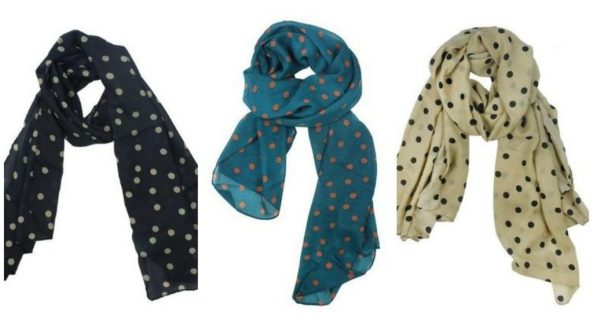 Polka Dot Scarves Just $2.29 + FREE Shipping!