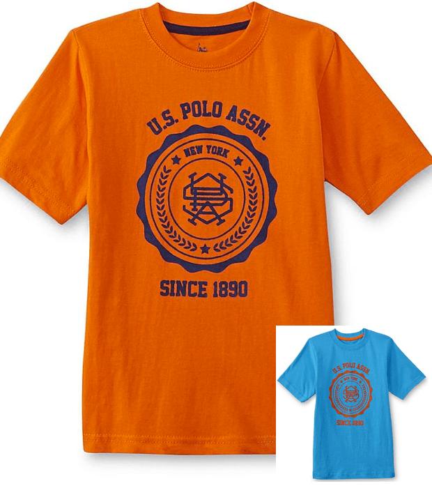 U.S. Polo Assn. Boy's Graphic T-Shirt Only $2.99 (Reg. $18)!