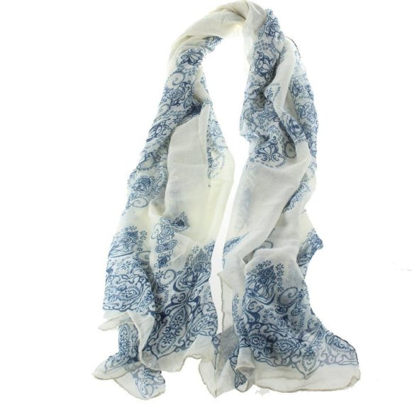 Porcelain Pattern Scarf Only $2.59!