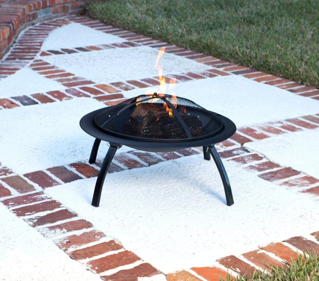 AmazonBasics Portable Folding Fire Pit Only $39! Ships FREE!