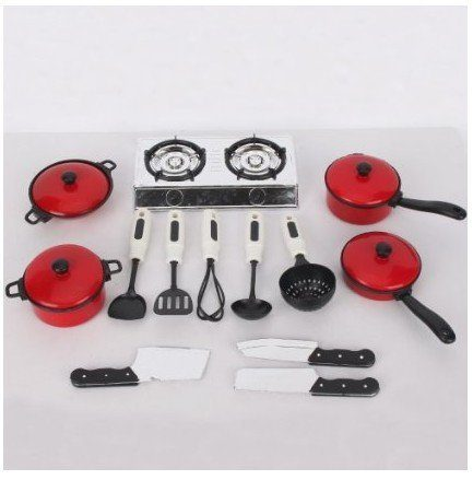 Pots and Pans Play Kitchen Set Only $7.86!
