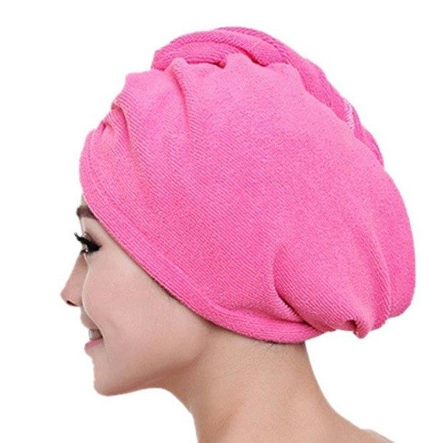 Quick Dry Hair Towel Only $3.63 + FREE Shipping!