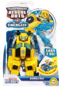 Transformers Rescue Bots Energize Bumblebee Figure Just $6.48! (reg. $14.99)