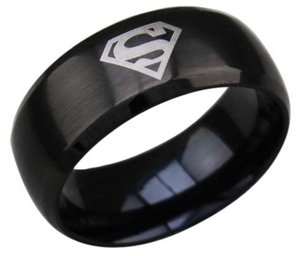 Titanium Man Of Steel Ring As Low As $7.99!