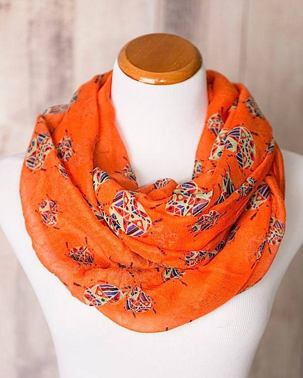 Geometric Infinity Scarf Only $19.95!