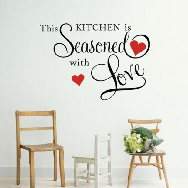 This Kitchen Is Seasoned With Love Wall Decal Just $2.56! Ships FREE!