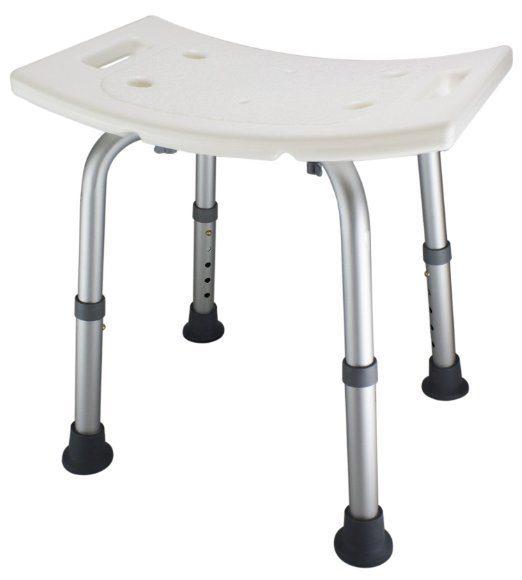 Adjustable Lightweight Shower Bench Just $28.70! (68% Off!)