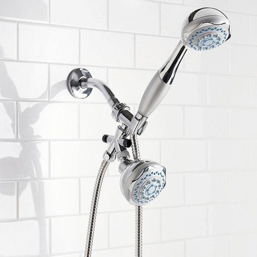 Sunbeam 5 Function Deluxe Dual Head Shower Massager Only $18.99! Ships FREE!