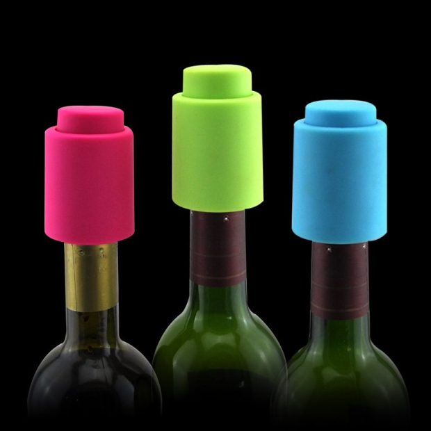 Silicone Wine Stoppers Only $6.82! Ships FREE!