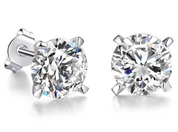 Women's Silver Plated Stud Earrings Just $7.97! Ships FREE!