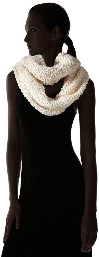 Jessica Simpson Women's Solid Looped Yarn Knit Eternity Scarf Just $5.71! (Reg. $32)