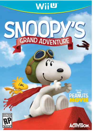 Snoopy's Grand Adventure - Wii U Just $18.42 Down From $40!