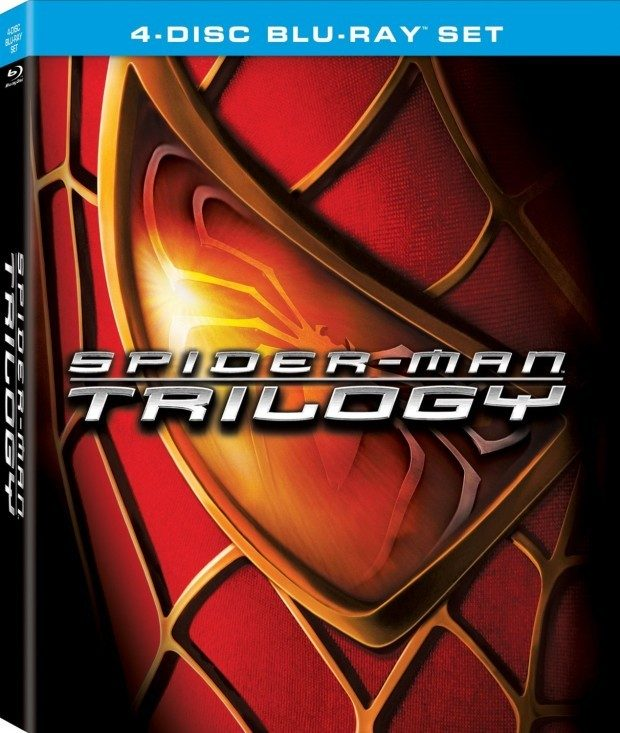 Spider-Man Trilogy [Blu-ray] Was $46 Now Just $9.49!