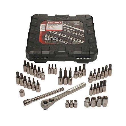 Craftsman 42 piece 1/4 and 3/8-inch Drive Bit and Torx Bit Socket Wrench Set Just $29.39 Down From $99.99 At Sears!