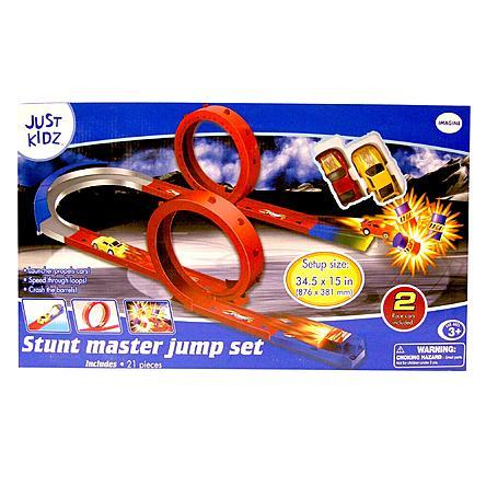 Kidz 21-Piece Master Jump - Stunt Driver Set Just $5.99 Down From $12.00 At Sears!