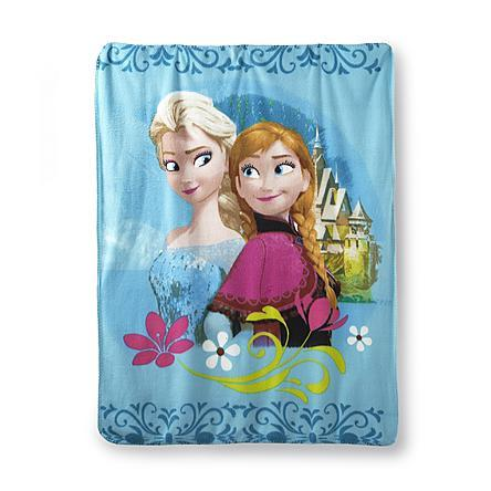 Disney Frozen Fleece Throw - Elsa & Anna Just $3.97!