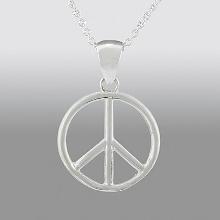 Disney Sterling Silver Wizards Of Waverly Place Peace Sign Pendant Just $7.99! Down From $79.99!
