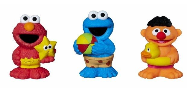 Sesame Street Bath Squirters Just $3! (Reg. $12!)