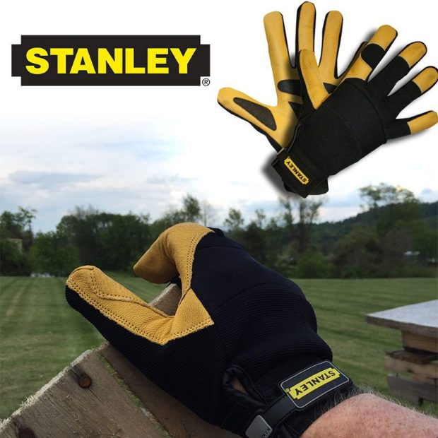 Stanley ProDex Gloves With Goatskin Leather! Only $9.99! Ships FREE!