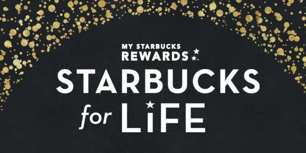 Win Starbucks For Life!  900,000 Winners!