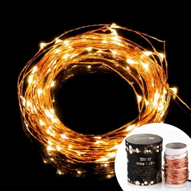 Copper Wire LED Starry String Lights Just $17.99!