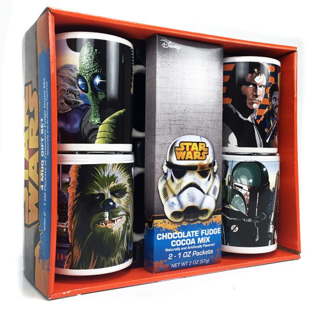 Star Wars 4 Mug Gift Set w/Hot Cocoa Mix $9.99! Ships FREE!