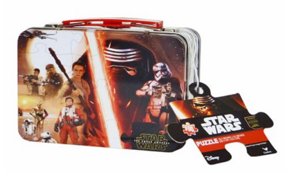 Star Wars Episode 7 The Force Awakens Mini Jigsaw Puzzle With Lunch Tin Box Just $6.64 Down From $22!