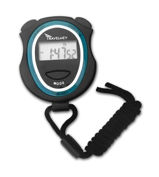 Digital Stopwatch With Lap Counter, Time, Date, Alarm Just $8.97! (Reg. $12)