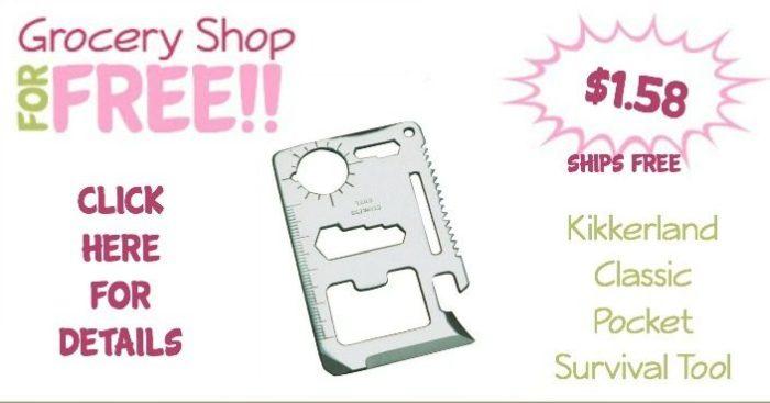Kikkerland Classic Pocket Survival Tool Just $1.56 Plus FREE Shipping!