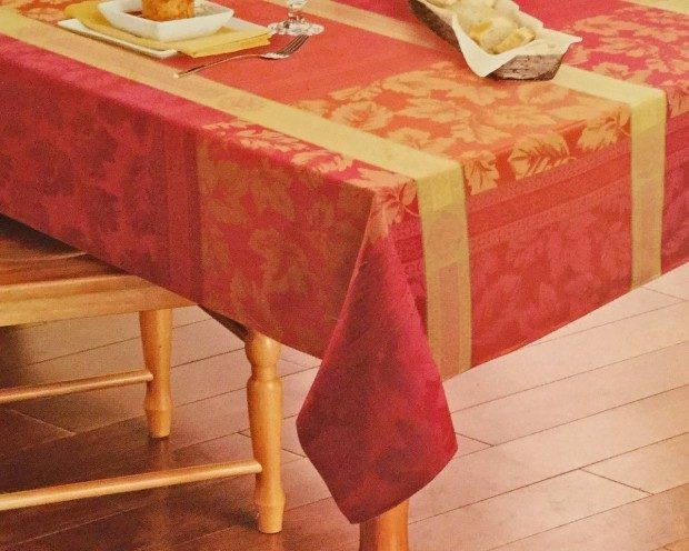Harvest Season Fabric Seasonal Splender Tablecloth Only $16.52! Ships FREE!