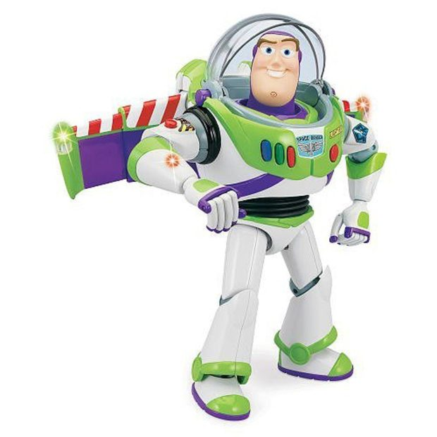 "Talking Buzz Lightyear Action Figure 12"" Just $25.57! (reg. $60!)"